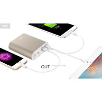 Hame H14D Power Bank QC 3.0 15000mAh Quick Charging
