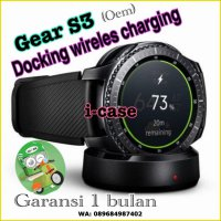 samsung gear s3 wireless charging cable (oem) garansi 1 bulan