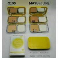 MAYBELLINE WHITE SUPERFRESH TWO Way CAKE - Bedak Padat MAYBELINE