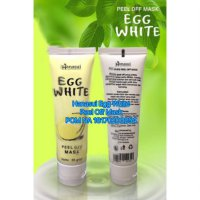 Promo EGG WHITE PEEL OFF MASK - MASKER TELUR