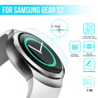 HMC Samsung Gear S2 Tempered Glass - 2.5D Real Glass & Real Tempered Screen Protector