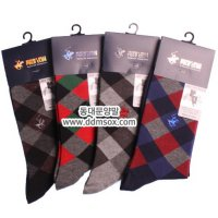 * Men's Long Ankle Socks 3ea [Dongdaemun socks]