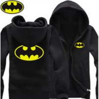 JAKET HOODIE ZIPPER BATMAN SUPERHERO - Vallenca