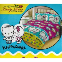 Sprei Lady Rose Disperse 180x200 - Kitty Love