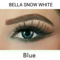 BELLA SNOW WHITE BLUE / SOFTLENS