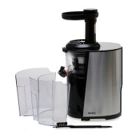 Juseu PC150B Slow Juicer - Silver-Hitam