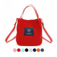 Import Ladies Canvas Hand & Shoulder Bag [Code : Skadi-S] / Tas Tangan Wanita Impor