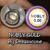 Promo NOBLY GOLD BY DREAMCONE /SOFTLENS