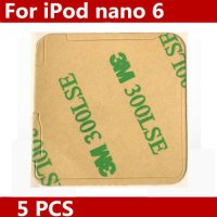 [globalbuy] 5pcs/lot Original New for iPod Nano 6th 6 Digitizer Glass Touch Screen Adhesiv/4042272