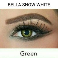 BELLA SNOW WHITE GREEN /SOFTLENS