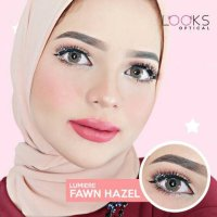 Promo New Lumiere Fawn Hazel / softlens