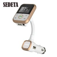 [globalbuy] Bluetooth 4.0 Car Kit MP3 Player FM Transmitter Charger USB SD Slot AUX +Remot/3323018