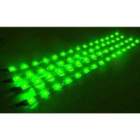 [macyskorea] Cutequeen 30cm LED Car Flexible Waterproof Light Strip Green (pack of 4)/16925924