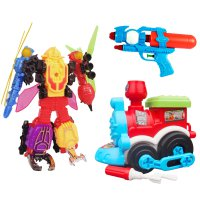 Ocean Toy Train Construction / Roadwheel Insector Warrior / Kereta Lokomotif / Pistol Air Set