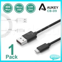 AUKEY Micro USB Cable 2m CB-D9 Cable USB Data Fast Charging QC3.0