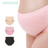 MOOIMOM Seamless High Waist Prop Belly Maternity Briefs Celana Dalam Ibu Hamil