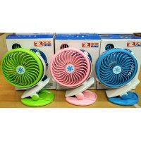 mini USB Fan with Clip for BABY Stroller - bisa di char