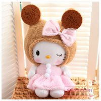 Boneka Cute Hello Kitty Cookies Costume (50cm)