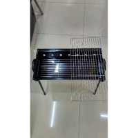 Alat Panggang Portable Maspion Multi Square Grill Barbeque 50cm - 20 inch