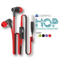 Hippo HOP Earphone Handsfree 1Pcs Bagus Bass Murah