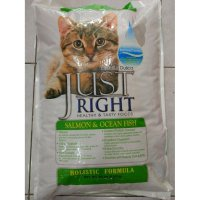 Just Right Cat Salmon Ocean Fish 9 Kg Makanan Kucing