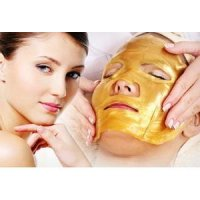 Gold Bio Collagen Facial Mask / Masker Wajah Topeng