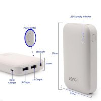 ViVAN Robot Rt7200 6600Mah | Powerbank Robot | PB 6600mah | Power bank