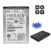 HGST Hitachi 500GB 7200RPM + Casing Orico USB 3.0