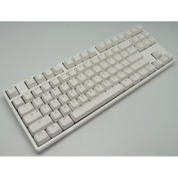 Ducky One White TKL Mechanical Keyboard Brown Cherry MX Non-Backlight