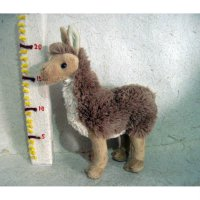 Boneka Llama Wild Animal Realistic Detail Doll