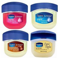 100% Original Vaseline Lip Therapy ~ Travel Size (7gr) / Rosy Lips, Cocoa Butter, Creme Brulee, Ori