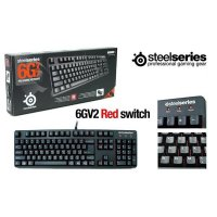 Mechanical Keyboard SteelSeries 6G V2 (US) Red Switch