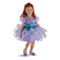 [poledit] Disguise Costumes The Little Mermaid Ariel Ballerina Toddler / Child Costume (T1/12130883