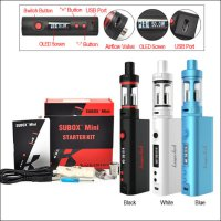 Vapor Kangertech Subox Mini Pro 50w Tc Starter Kit! 100%