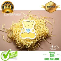 Lampu Tidur Wooden Kids Night Lamp Model Lovebear Kayu MDF Material