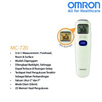 OMRON NON CONTACT THERMOMETER MC-720