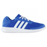 Sepatu running adidas element athletic blue white