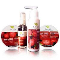 Paket Cantik Bali Ratih + Pouch (Isi : Body Mist, Scrub, Butter, Lotion)