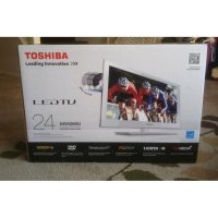 Toshiba 24L2615VJ LED TV - Hitam USB MOVIE [24 Inch]