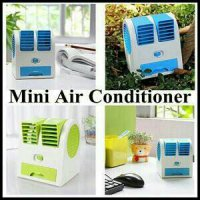 Ac Portable Mini Duduk Double Fan Mini Fan Mini Ac Air Conditioning Harga Promo11