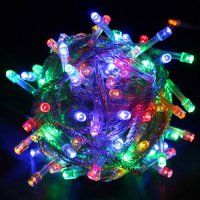 [globalbuy] 10m Christmas Tree Flashing Light Party LED Light Strip Lamp Colorful Waterpro/3384832