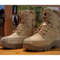 Sepatu Delta Forces Usa 8' Military Outdoor Best Quality Desert Boots Import