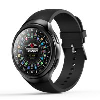 LEMFO Smartwatch LES2 Smart Watch Android Phone GPS - Hitam