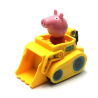 Mainan Edukasi Anak Peppa Pig Yellow Car