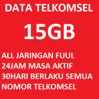 PAKET DATA TELKOMSEL 15GB || PAKET DATA TELKOMSEL FLASH || KUOTA TELKOMSEL || PULSA data TELKOMSEL
