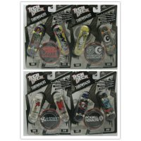 [globalbuy] 4pcs NEW Fingerboard Tech Decks throwbacks 96mm Skateboard Original package PO/3288788