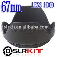 [globalbuy] (Screw Mount) 67mm Lens Hood Petal Crown Flower Shape/1965313