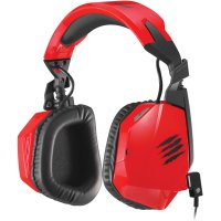 Mad Catz F.R.E.Q.3 Stereo Gaming Headset for PC and Mac - Red