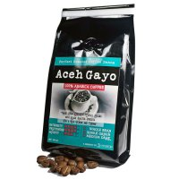 Aceh Gayo Arabica Coffee Whole Bean Coffee 200 Gram – 100% Biji Arabika - Roast by Sentra Kopi