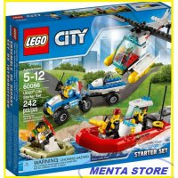 LEGO # 60086 City Starter Set Kit Town New Sealed Mainan Anak Edukasi